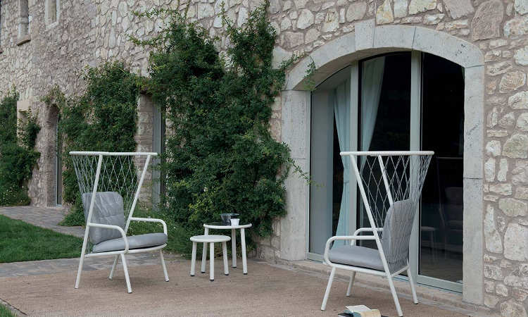 Nef, poltrona moderna, da giardino