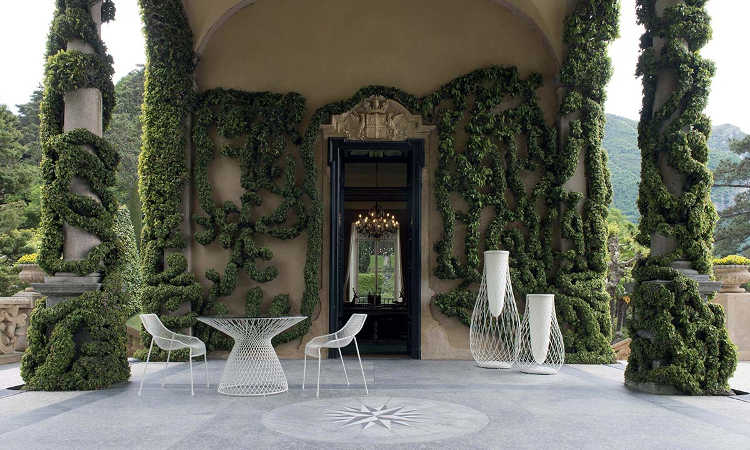 Heaven, sedia da giardino dal design moderno