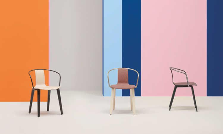 Jamaica, sedia moderna per l'arredo indoor
