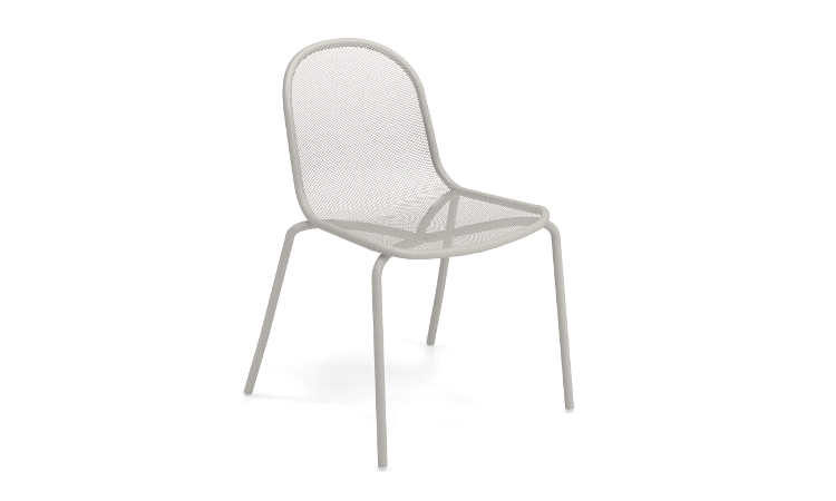 Nova, sedia moderna da giardino, con o senza braccioli