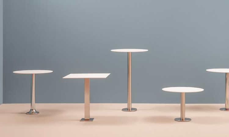 Permanent, tavolo da fissare a terra