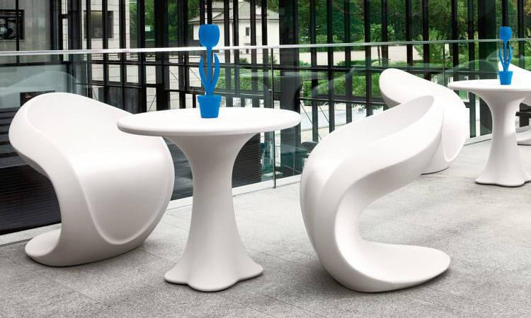 Teddy, tavolo bar per ambienti interni ed esterni