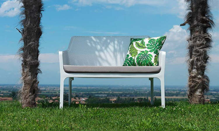Net Bench, divanetto due posti da giardino