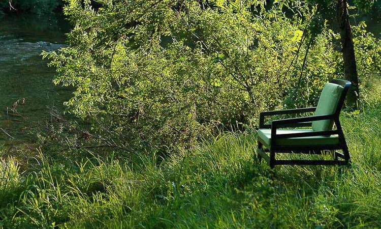 Aria, poltrona da esterno per l'arredo giardino