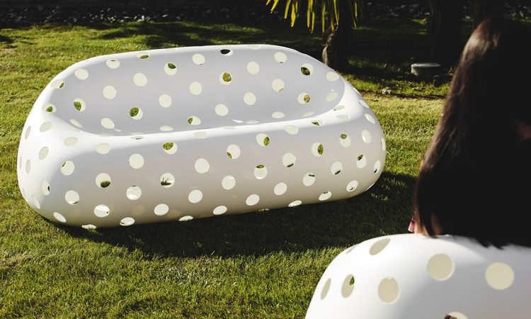 Airball, divano luminoso due posti da esterno