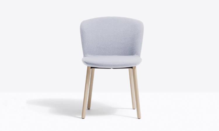 Nym Soft, sedie imbottita per l'arredo indoor