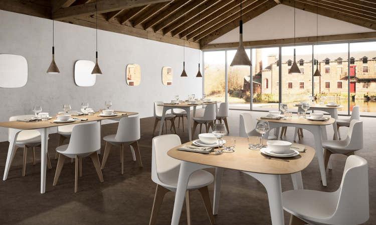 Planet, tavolo ristorante per l'arredo indoor