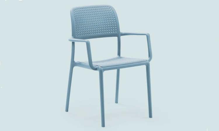 Bora, sedia moderna per l'arredo outdoor