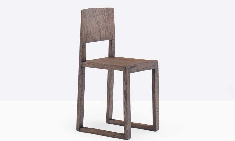Brera, sedia in legno per l'arredo ristorante