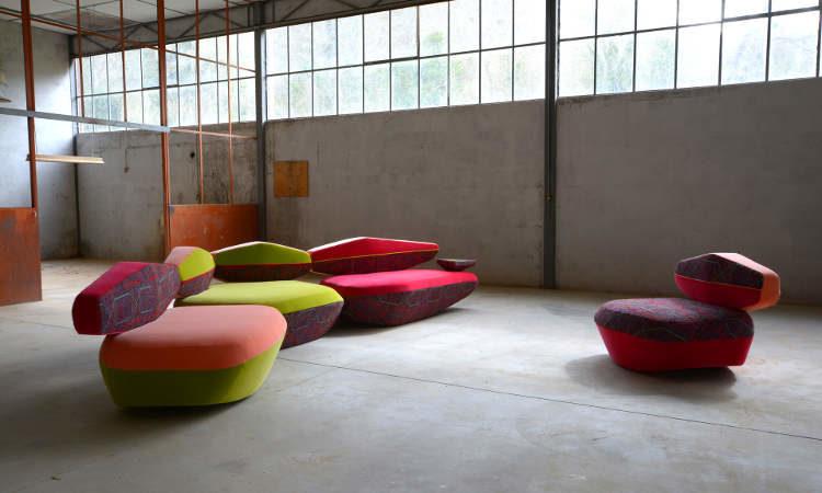 Big Sofa, divano moderno disponibile in tre dimensioni