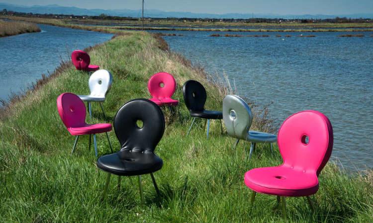 Sedi'ola, sedia moderna per l'arredo outdoor
