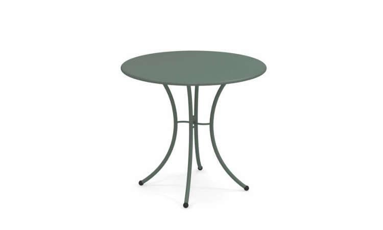 Pigalle, tavolo da giardino con piano tondo