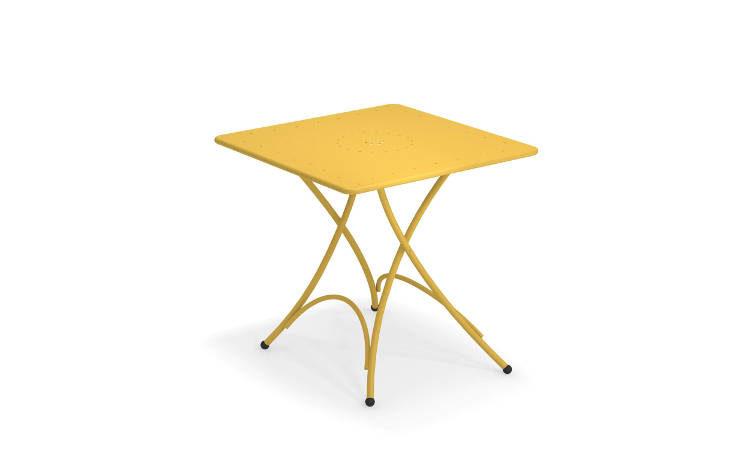 Pigalle, tavolo da giardino, quadrato, pieghevole