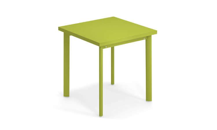 Star, tavolo quadrato per l'arredo giardino