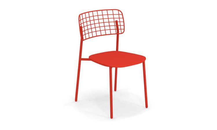 Lyze, sedia impilabile per l'arredo outdoor