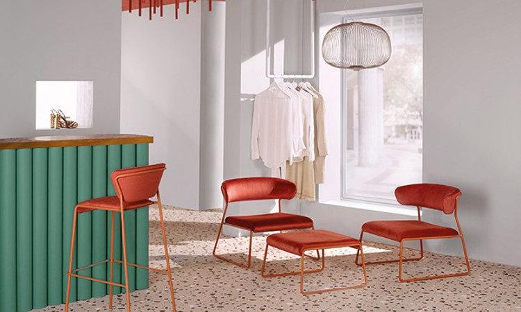 Lisa Lounge, poltrona lounge per l'arredo indoor