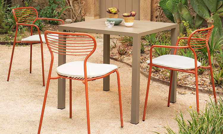 Apero, sedia moderna per l'arredo outdoor