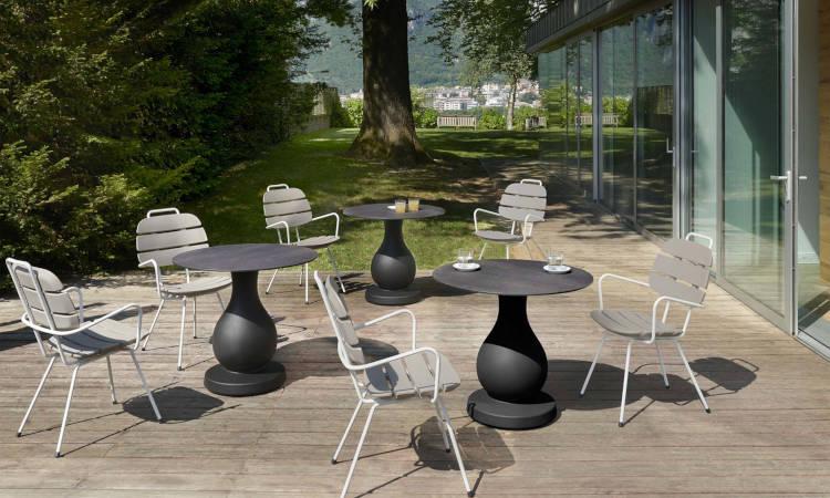 RIBS, sedia moderna per l'arredo indoor e outdoor